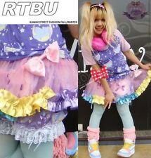 JAPAN Decora Q Burlesque Fruity SILKY Frilly TUTU SKIRT Pink