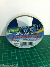 ALL WEATHER WATERPROOF CLEAR CAR GLASS REPAIR SEALING WINDOW TAPE ULTRATAPE 5199