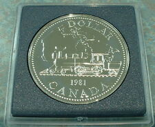 CANADA 1981 UNCIRCULATED  SPECIMEN ***SILVER DOLLAR***