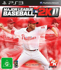 Major League Baseball 2k11 (2011) (SONY PS3) NUEVO PRECINTADO