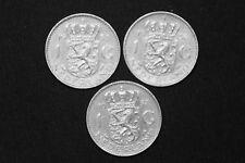 1 Gulden Niederlande Umlaufmünzen 1955 - 1957 -