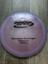 Innova Champion Destroyer - 175g - Disc Golf - pop top. Thrown twice.