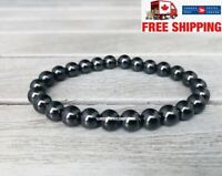 Stop Smoking Bracelet Magnetic Hematite Stone Therapy Health Care Magnet Anti