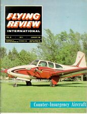 FLYING REVIEW INTL JAN 65 XB-70 VALKYRIE_COIN ACFT_YF-12A_MIG-15bis_Ju287_F-111A
