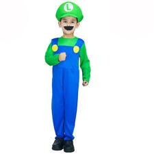 Luigi from Super Mario Boys Fancy Dress Costume