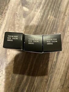 LOT OF 3 MARY KAY TRUE DIMENSIONS LIPSTICKS TUSCAN ROSE (.11 oz. EACH)