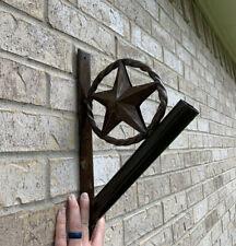 Iron Star Flag Pole Holder - Wall Mount