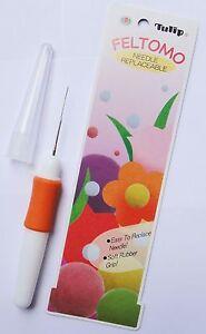TULIP Feltomo Felting Tool TF-008e Pen Style - Replacement Needles TF-002e
