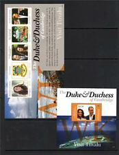 TUVALU MNH 2012 THE DUKE & DUCHESS OF CAMBRIDGE'S VISIT