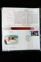 Worldwide Millennium Multicolored Cachet First Day Cover FDC Collection