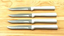 RADA CUTLERY 4 PC R105 STEAK KNIFES SERRATED SHARP SAME KNIVES S4S USA MADE A1