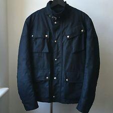 Very Cool Balenciaga Paris Navy blue padded biker jacket Sz 48