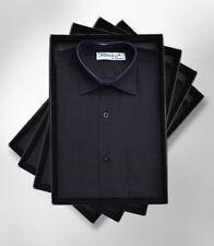 T-shirts, débardeurs et chemises noir coton mélangé pour garçon de 2 à 16 ans
