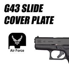 Replacement Slide Cover Plate for Glock G43 - UNITED  STATES AIR FORCE USAF