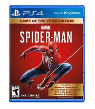 Marvel 'Spider-Man-PlayStation 4-Game of the Year 版