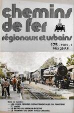 CHEMINS de FER RÉGIONAUX et URBAINS - N° 175 (1983 - 1) (CFRU - FACS) (Train)