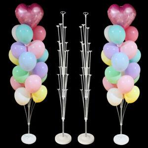 LED Balloons Stand Base Sticks Globos Holder Column Kit Birthday Party Decor