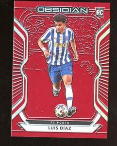2020-21 Panini Obsidian Asia #66 Luiz Diaz RC Rookie 26/28 Red PRIZMS