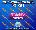 Remote Network Unlock Service LG K51 T-Mobile MetroPCS