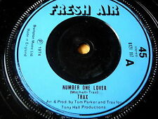 """TRAX - NUMBER ONE LOVER     7"""" VINYL"""