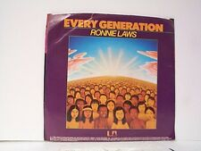 "RONNIE LAWS ""EVERY GENERATION / INSTRUMENTAL""  45w/PS MINT"