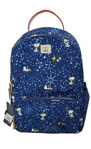 Cath Kidston x Snoopy Midnight Stars Pocket Backpack True Navy Colour