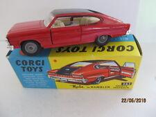 CORGI 263 RAMBLER MARLIN SPORTS FASTBACK CAR - MINT + Original Boxed