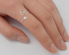 Silver Star Ring Sterling Silver 925 Plain Low Price Jewelry Adjustable