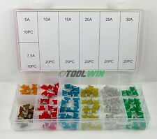 120 pc Low Profile Micro Blade Mini Fuse Assortment Set APS Car Auto Truck SUV
