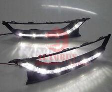 A Pair Daytime Running lights DRL Fog Lamp Cover for VW Passat B7 2012 New