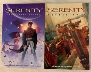 Serenity Book 1 & 2 by Whedon and Brett Matthews 2006