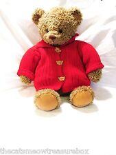 "Hallmark Plush 21"" Teddy Bear Brown Mary on Paw"