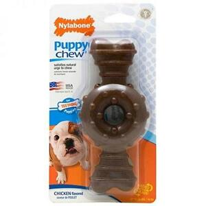 Nylabone Puppy Chew Ringbone Wolf for Puppies - Free Shipping