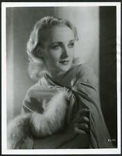 CAROLE LOMBARD in BEAUTIFUL PORTRAIT Original Vintage 1920s PATHE FILMS Photo