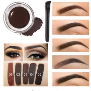 Eye Brow Professional Tint Hena Eyebrow Gel Makeup Waterproof With Brow Brush