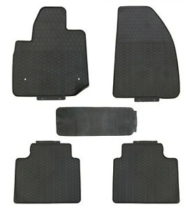 Floor Mats for Cadillac XT5 2017+ Custom Fit Rubber All Weather