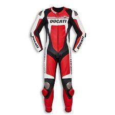 Dainese Ducati Corse C4 Men's 2020 One Piece Leather Suit, 981045154, UK44-EU54