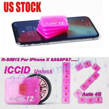RSIM 12 2017 R-SIM Nano Unlock Card for iPhone X/7/8/6s/5S/ 4G iOS 10 11
