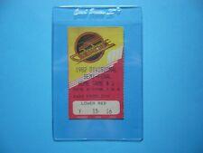 1981/82 VANCOUVER CANUCKS VS CALGARY FLAMES PLAYOFFS HOCKEY TICKET STUB NICE!!