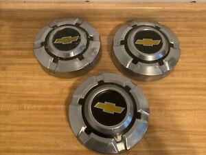 "69-75 CHEVROLET Dog Dish CHROME HUBCAP 10 ""  Pickup Truck 15' C10 C15 Oem Set 3"