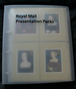 122 Mint PHQ cards 1997-99 in 26 sleeves in Royal Mail Presentation Packs Album