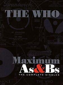 The Who - Maximum A's & B's - CD - Boxset New Sealed