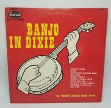 RARE LP Banjo in Dixie - The Freddy Charles Banjo Group - Rondo-lette SA 125 VG+