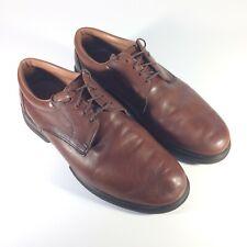 Allen Edmonds Commuter Brown Leather Plain Toe Oxfords Shoes Mens US 10 D