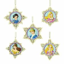 DISNEY TRADITIONS PRINCESS SNOWFLAKES ORNAMENT SET #4033273 #sdec15-336
