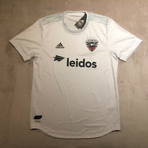DC United Adidas Authentic Aeroready 2019 Away Jersey White L