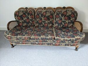 Antique Bergere Sofa and Chairs