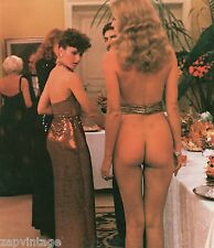 Vintage Color Photo - Nude Naked Girl At Cocktail Party (Humor, Funny) #222
