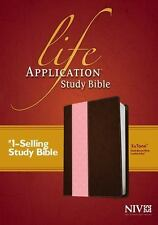 Life Application Study Bible NIV, Tutone (2014, Imitation Leather)