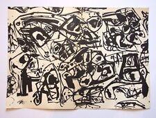 """ANTONIO SAURA Original Lithographie, 19 X 13 1/2"""", 1961, plaque signé"""